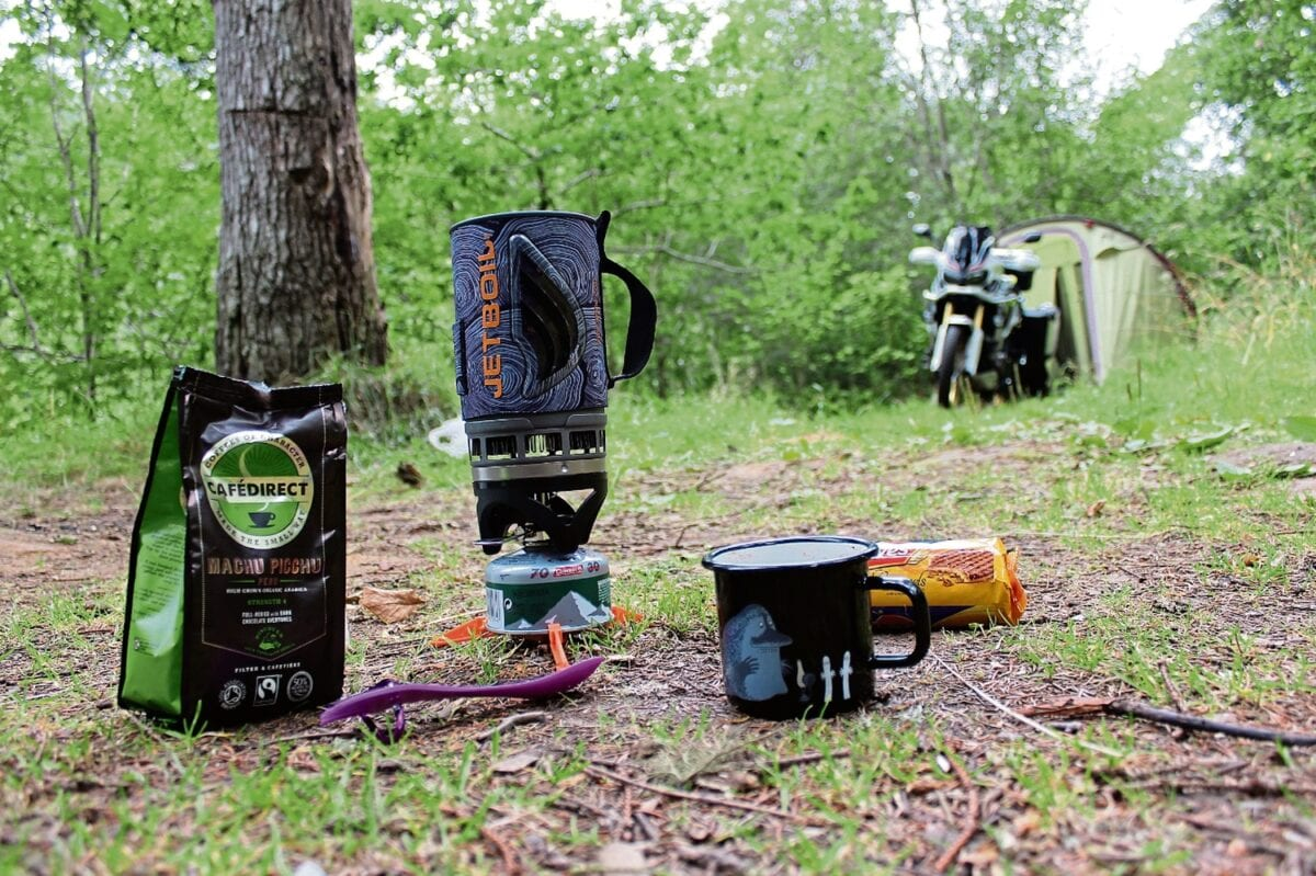 Motorcycle touring advice: Wild camping in Scotland ...