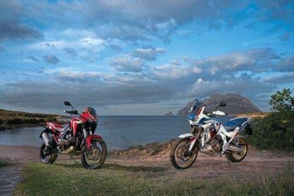 Closer look at the new Honda Africa Twin. Photo: Honda Europe.