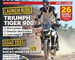 May issue of Motorcycle Sport & Leisure