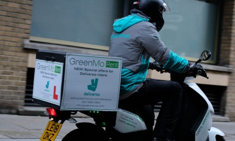GreenMo donates electric mopeds to help food bank deliveries