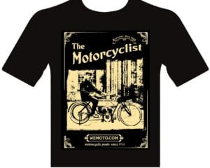 WeMoto t-shirt in support of the NHS