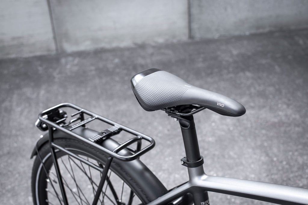Seat of the Trekker GT E-bike