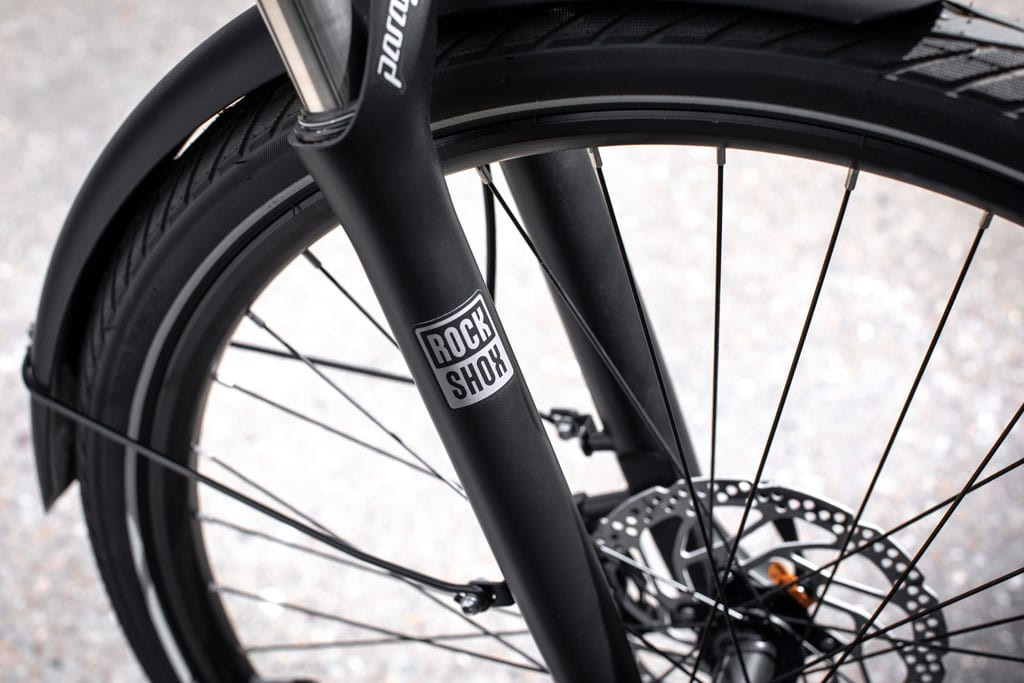 Trekker GT E-bike wheels