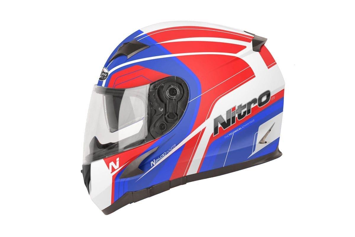 Pioneer helmet