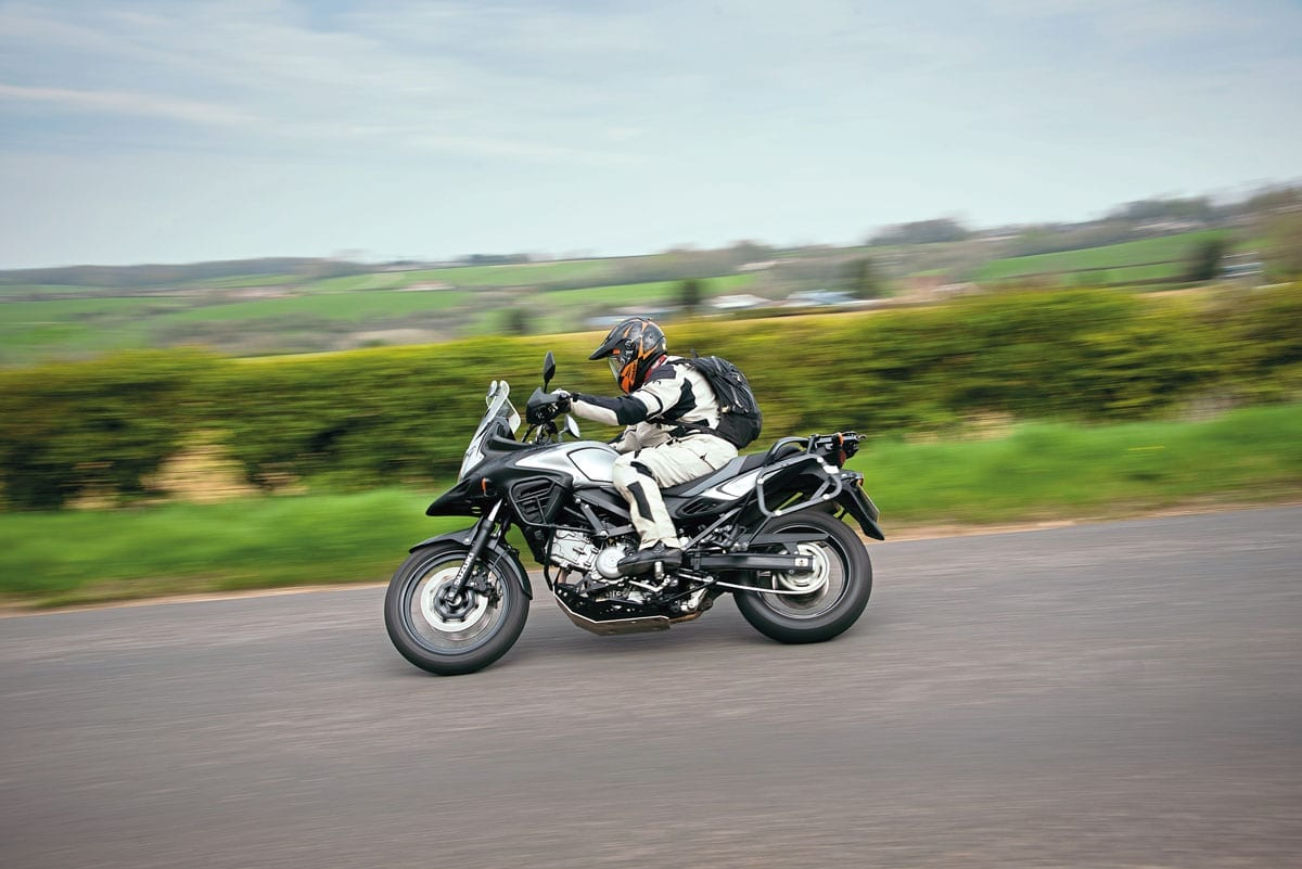 Suzuki V-Strom 650 is a popular bike for all age groups