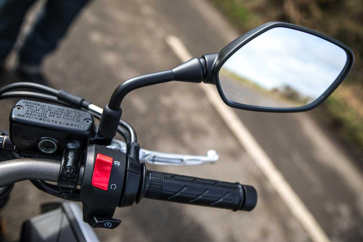 Honda CB650R grips