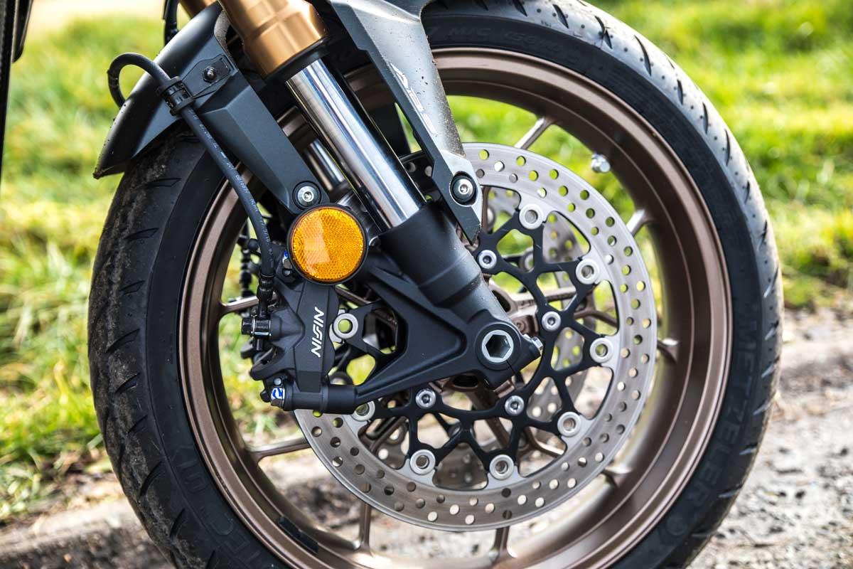Honda CB650R front wheel