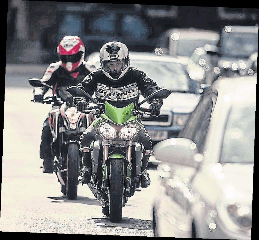 Highway Code changes, men on motorcycles