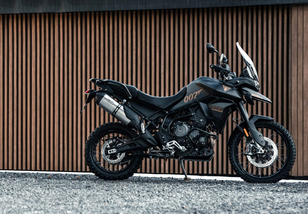 Triumph Tiger 900 Bond motorcycle